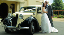Austin Windsor Wedding Car